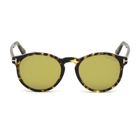 Men's Ian Sunglasses // Tortoise + Green