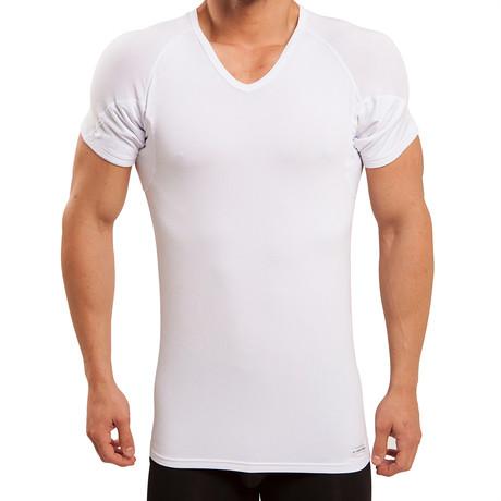 Sweat Proof V-Neck Undershirt // White (XS)
