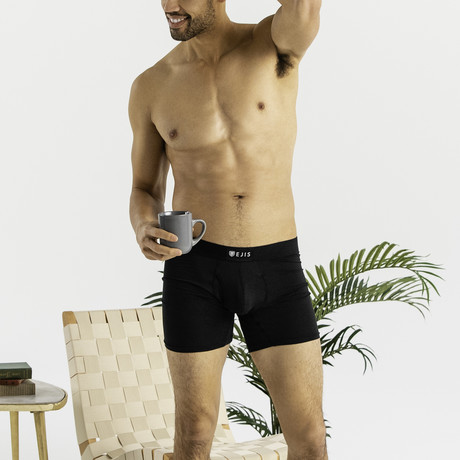 Sweat Proof Boxer Brief + Comfort Pouch // Black (XS)