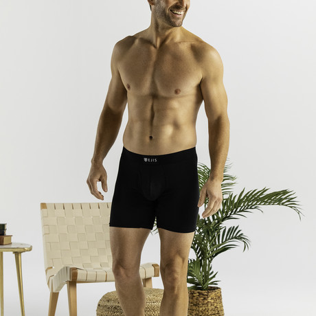 Sweat Proof Boxer Brief + Fly // Black (XS)