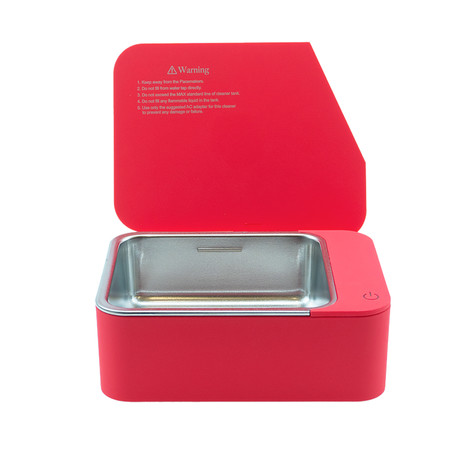 Jewelry.6 Ultrasonic Jewelry Cleaner // Red