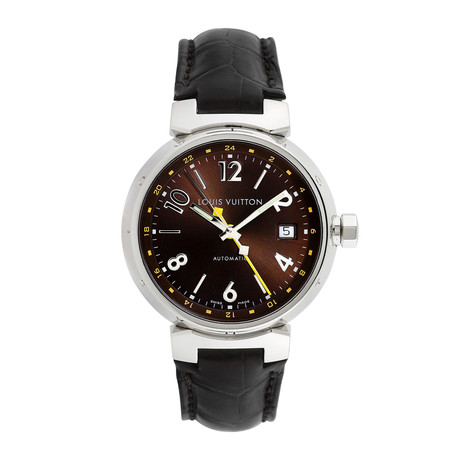 Louis Vuitton Tambour GMT Automatic // Q11.31 // Pre-Owned