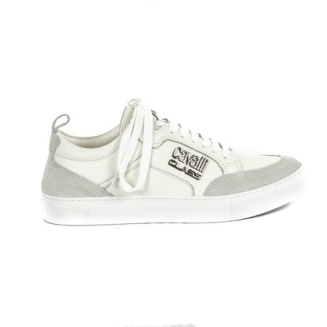 Men's Classic Lace-Up Sneaker // White (Euro: 38)