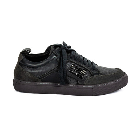 Men's Classic Lace-Up Sneakers // Black (Euro: 38)