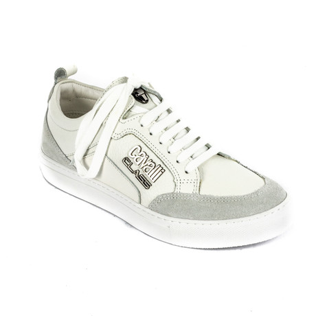 Classic Lace-Up Sneaker // White (Euro: 39)