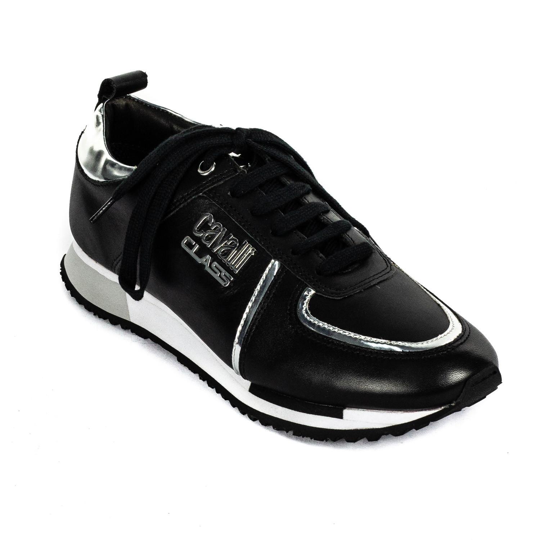 Sneaker // Black + Silver (Euro: 41