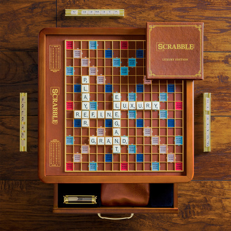 Scrabble Luxury