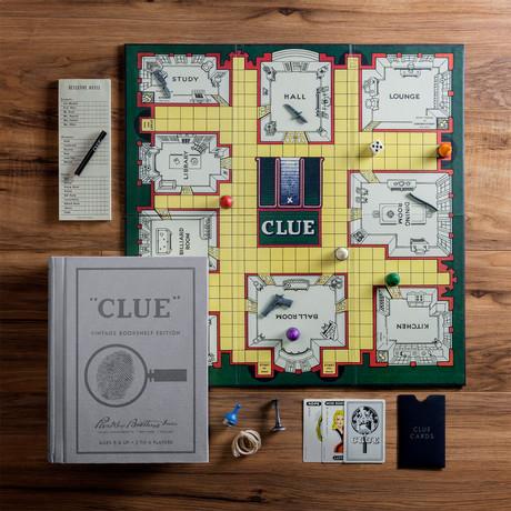 Clue Vintage Bookshelf