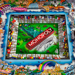 Monopoly 3d World Edition by Charles Fazzino