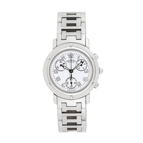 Hermès Ladies Clipper Chronograph Quartz // Pre-Owned