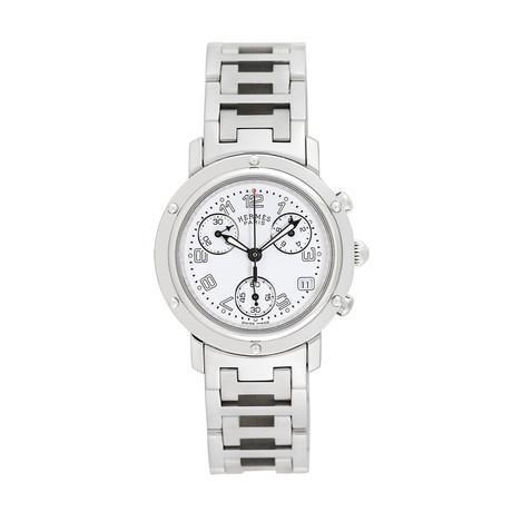 Hermès Ladies Clipper Chronograph Quartz // CL1.310 // Pre-Owned