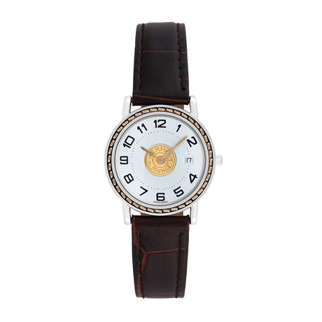 Hermès Ladies Sellier Quartz // Pre-Owned