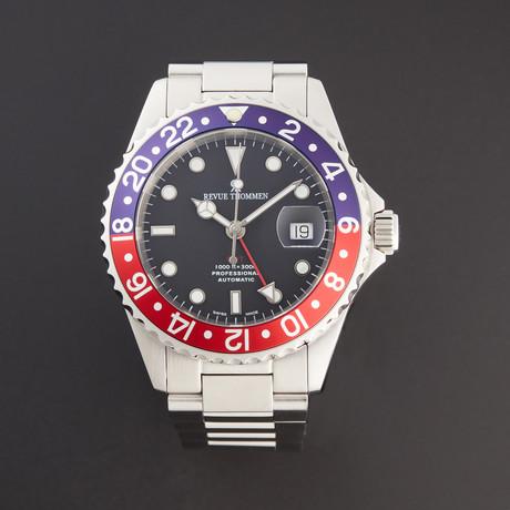 Revue Thommen Diver GMT Automatic // 17572.2135