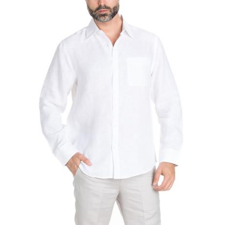 Resort Wear Long Sleeve Shirt // White (S)