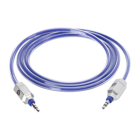 Survivor Ultra Durable Aux Cable // 4ft (Black)