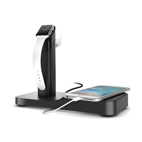 Powered Apple Watch Stand // Black