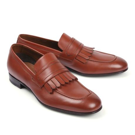 Leather Dress Shoe // Brown (Euro: 39.5)