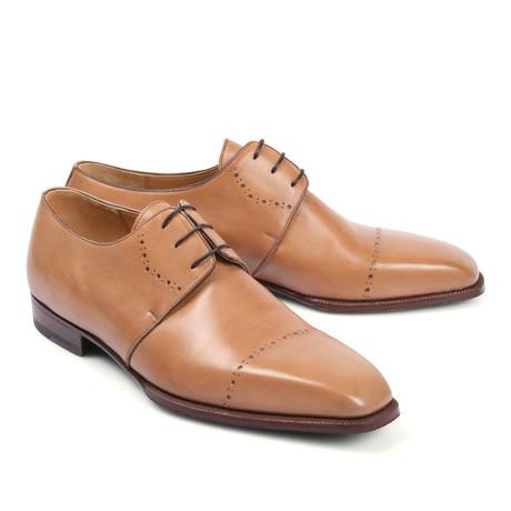 Leather Dress Shoe // Beige (Euro: 39.5)