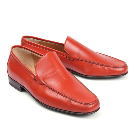Leather Loafer // Red (Euro: 39.5)