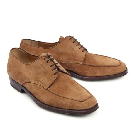 Suede Dress Shoe // Beige (Euro: 39.5)
