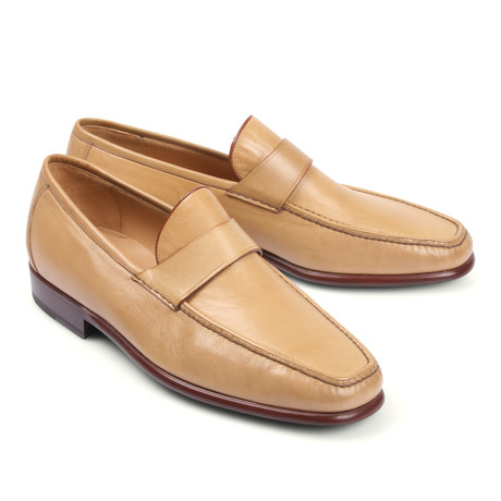 Leather Loafer // Light Tan (Euro: 39.5)