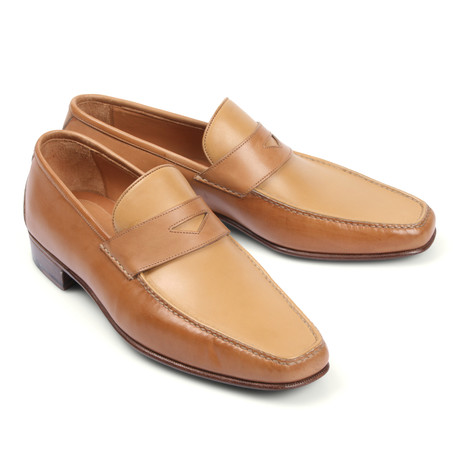 Leather Loafer // Beige (Euro: 39.5)