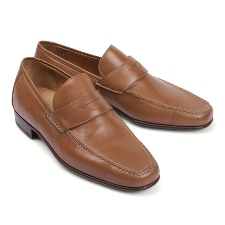 Leather Loafer // Brown (Euro: 39.5)