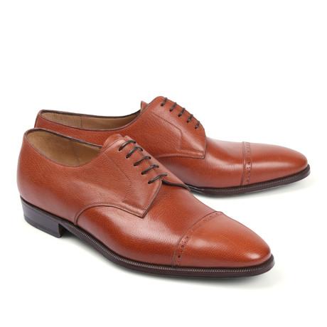 Leather Dress Shoe // Cognac (Euro: 39.5)