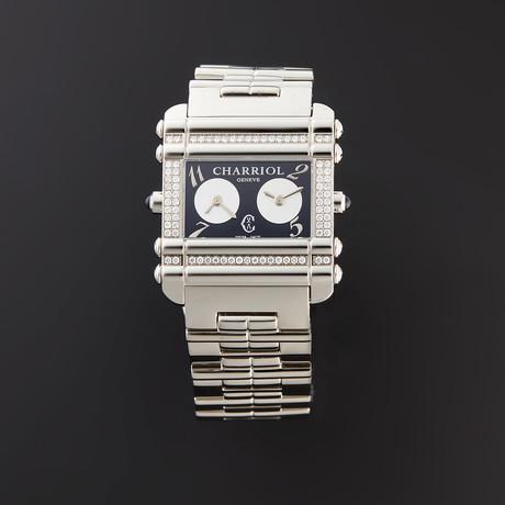 Charriol Ladies Dual Time Quartz // CCHDTD110HDT01