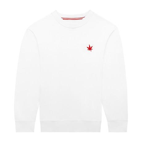 Pullover Crewneck // Bright White (S)