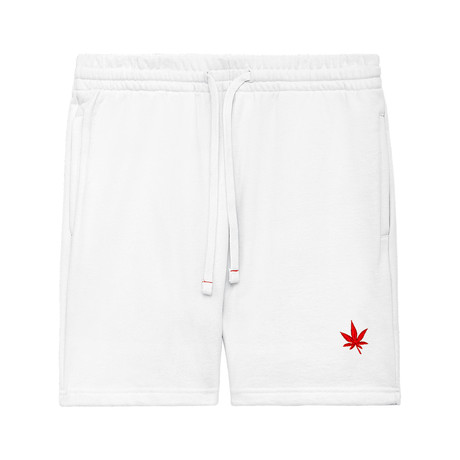 Sweat Short // Bright White (XS)