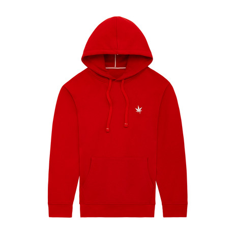 Pullover Hoodie // Boast Red (XS)