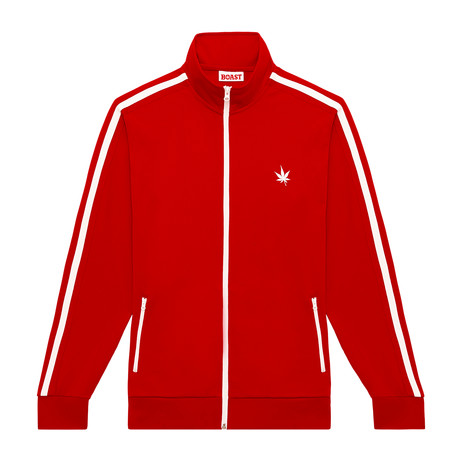 Warm Up Jacket // Boast Red (XS)