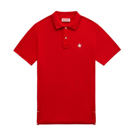 1973 Polo // Boast Red (XS)