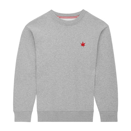 Pullover Crewneck // Athletic Gray (XS)