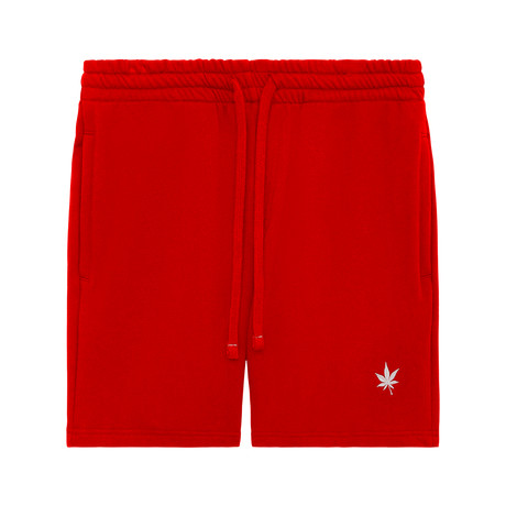 Sweat Short // Boast Red (XS)