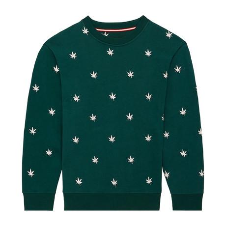 Monogram Pullover // Ivy Green (S)