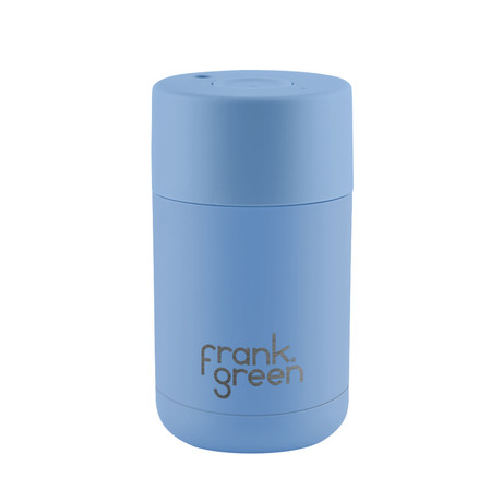 Stainless Steel Reusable Cup // Little Boy Blue (10oz)