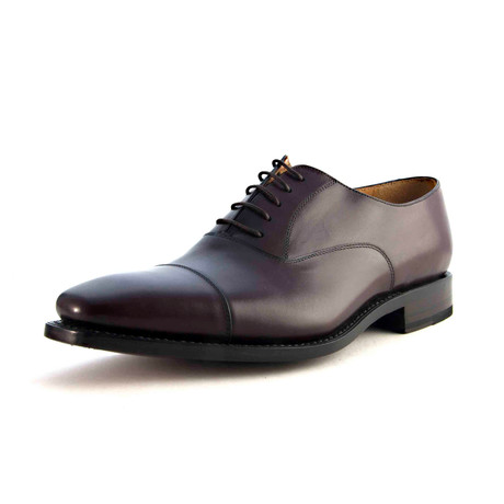 Thomas Cap-Toe Oxford // Mid Brown (US: 7)