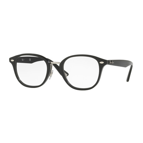 Men's 0RX5355 Square Optical Frames // Black