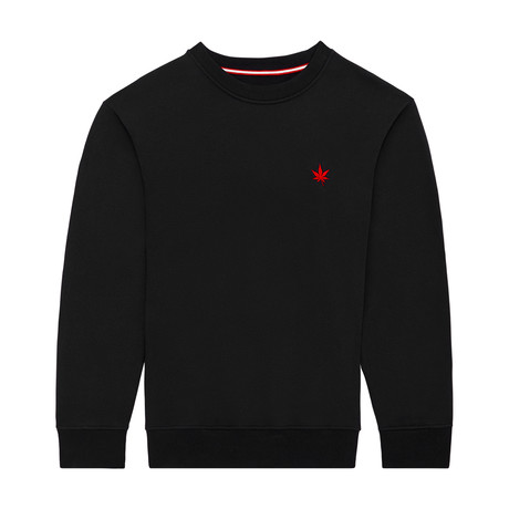 Pullover Crewneck // Black (S)