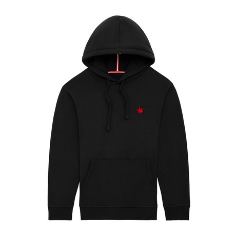 Pullover Hoodie // Black (XS)