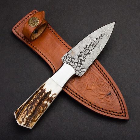 Pugio Damascus Steel Dagger
