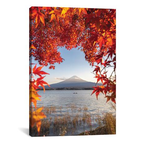 "Autumn In Japan II by Daisuke Uematsu (18""W x 26""H x 0.75""D)"
