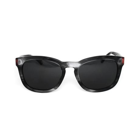 Bryant Polarized Sunglasses // Striated Gray