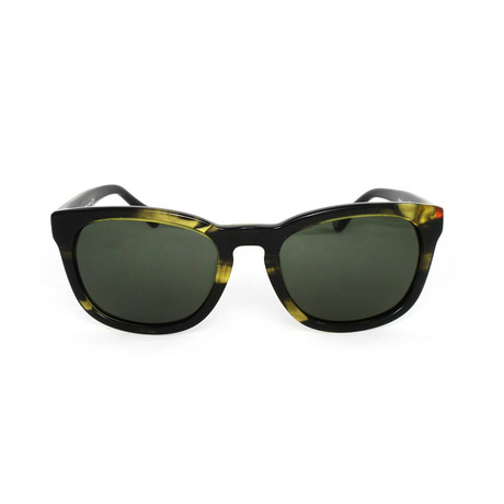 Bryant Polarized Sunglasses // Striated Green