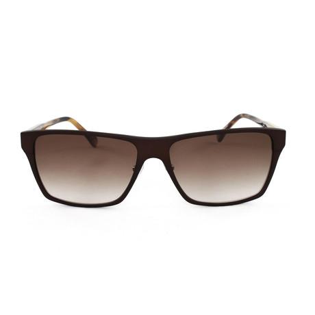 Hughes Sunglasses // Matte Brown