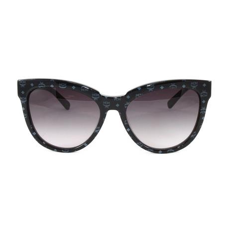 MCM639S Sunglasses // Black Visetos