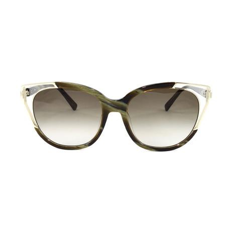 MCM660SA Sunglasses // Khaki Horn