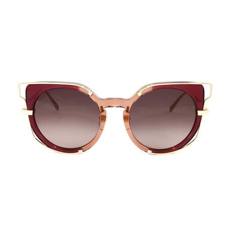 MCM665S Sunglasses // Antique Rose